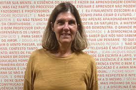 Fotografia de Claudia Laloni, Coordenadora de Relacionamento do Instituto Singularidades.