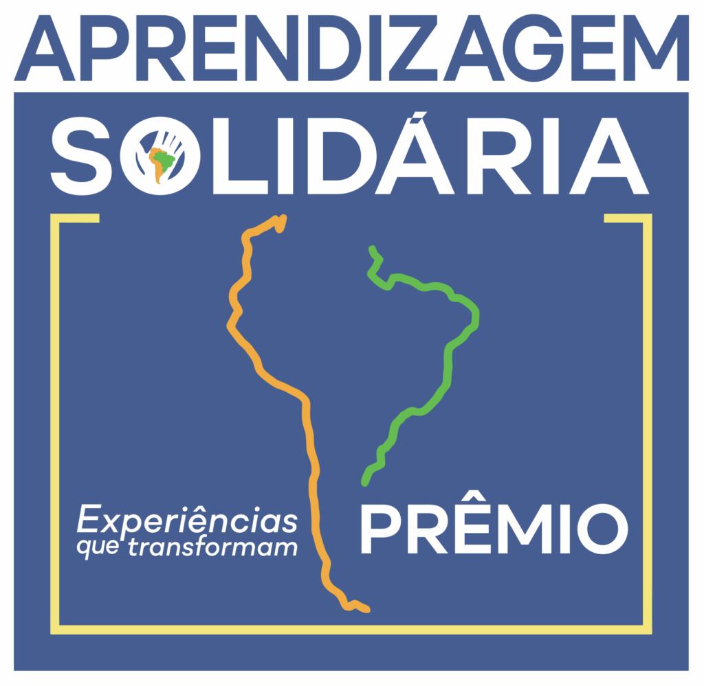 Logomarca do 1º Prêmio de Aprendizagem Solidária - Experiências que transformam.