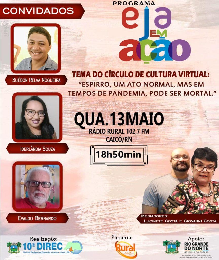 Imagem do Programa EJA em Ação, do município de Caicó (RN).