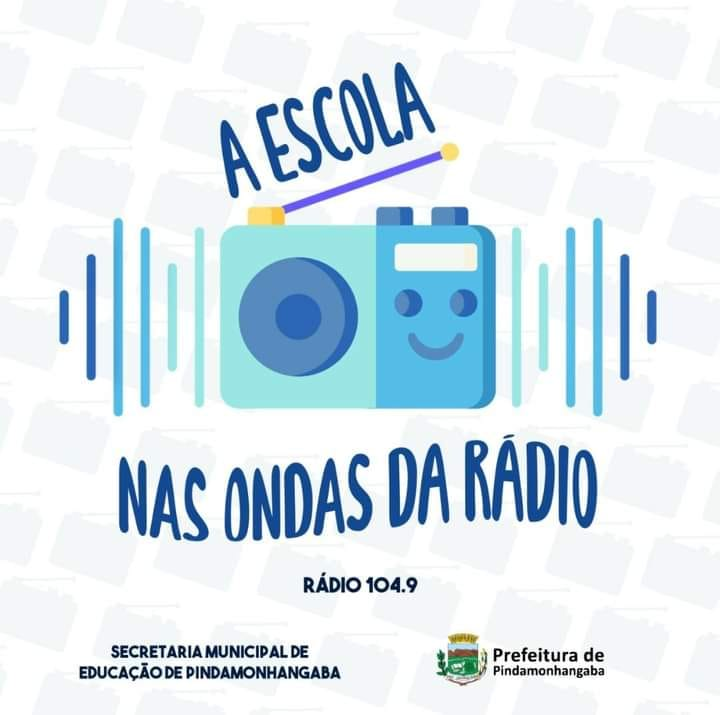 Imagem do Programa A Escola nas Ondas do Rádio, de Pindamonhangaba.