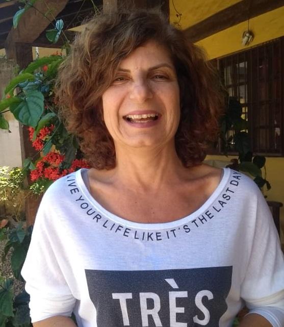 Fotografia de Izabel Brunsizian, formadora do PVE no município.