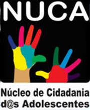 Logotipo do Núcleo de Cidadania dos Adolescentes (NUCA).