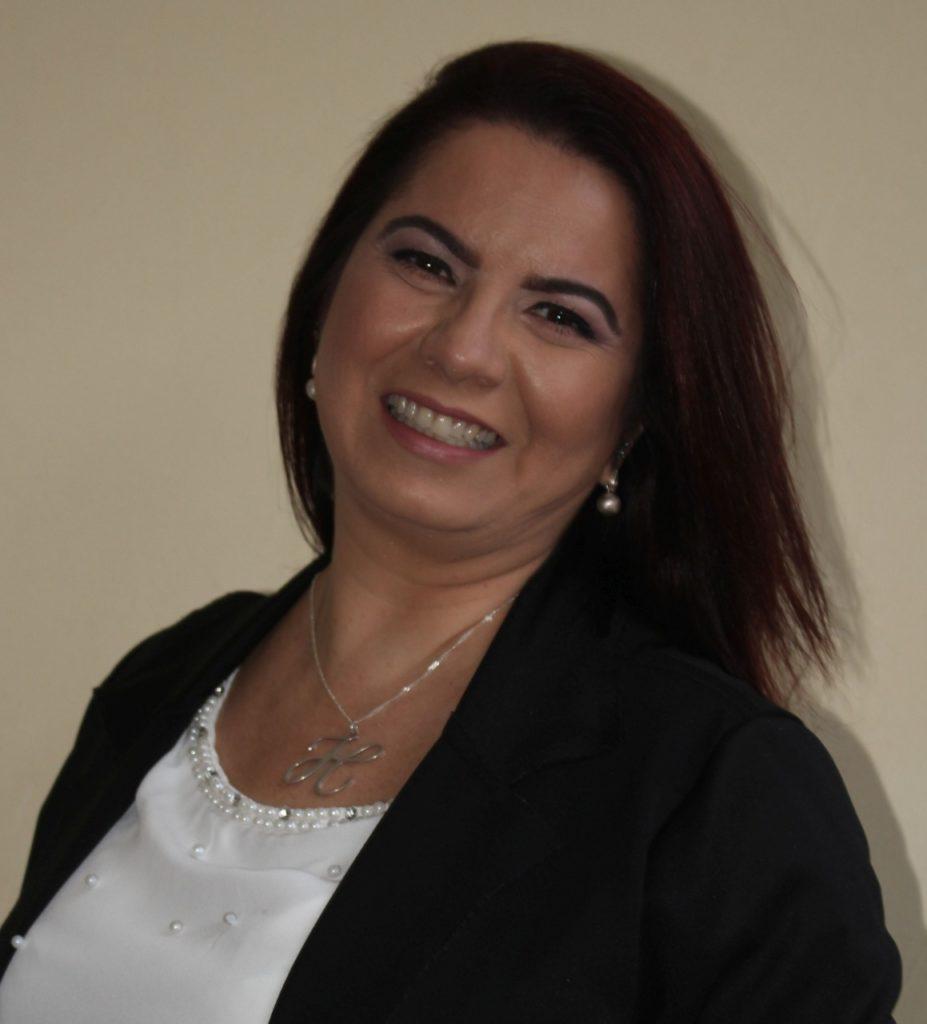 Fotografia de Heloísa Martins Proença, formadora do PVE no município.