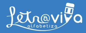 Logomarca do projeto Letra Viva Alfabetiza, desenvolvido pelo CENPEC Educação.