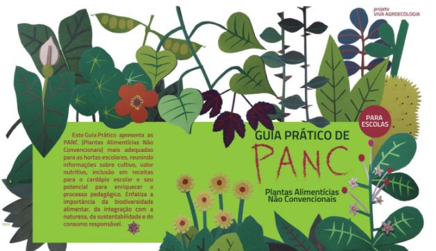 Guia Prático de PANC para escolas - alimentação e direito à educação