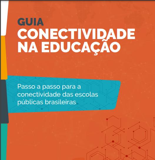 capa Guia de Conectividade na Educação